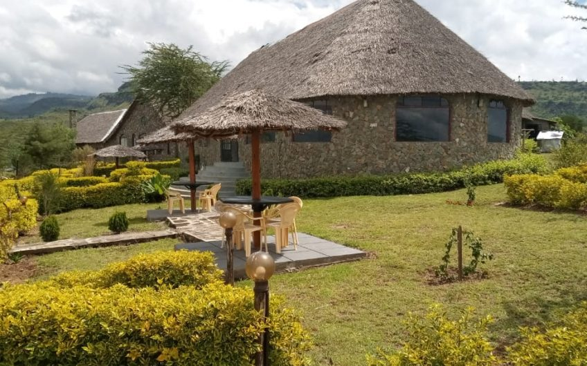 Lodge in Lake Elmentaita