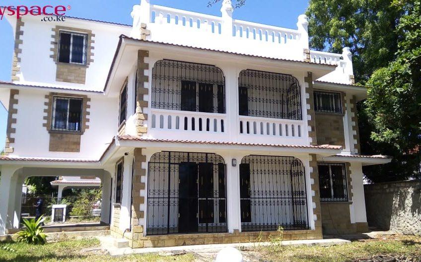 5 BEDROOM MAISONETTE TO LET IN MOMBASA, NYALI.