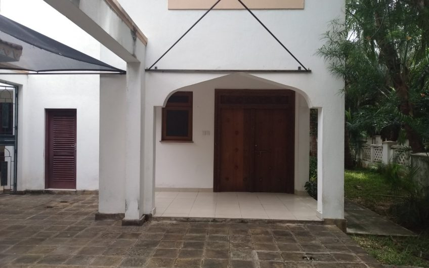 TO RENT: GOLF VILLAS, NYALI BARACKS LANE MOMBASA