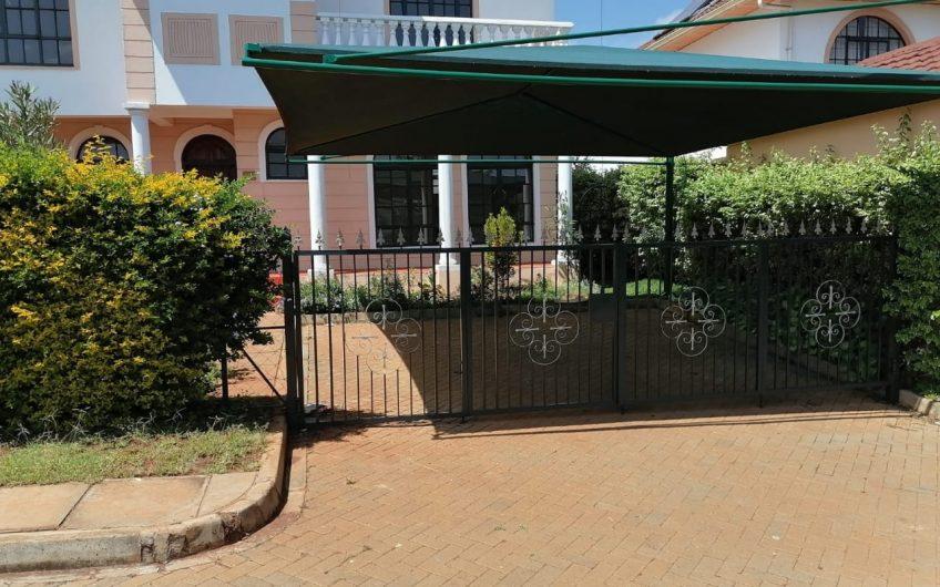 FOUR BEDROOM FOR SALE ALONG KIAMBU ROAD