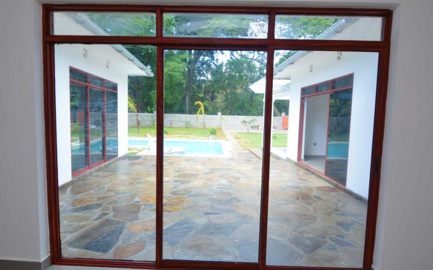 THREE BEDROOM VILLA FOR SALE IN MTWAPA.