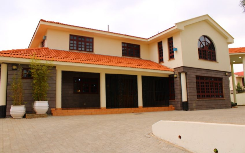 FIVE BEDROOM HOUSE TO LET IN THIGIRI
