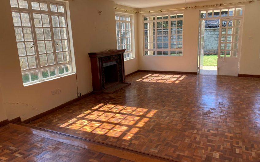FOUR BEDROOM HOUSE TO LET IN KAREN.