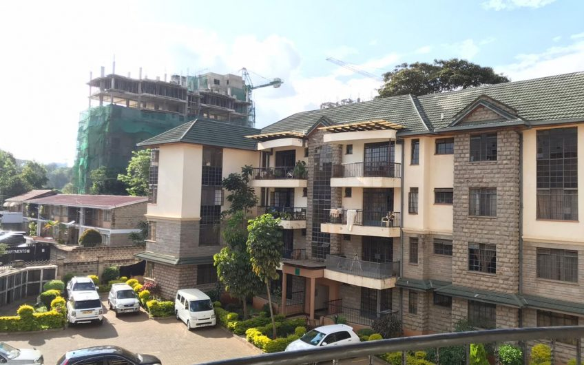 Three bedroom apartment to let in Kileleshwa.