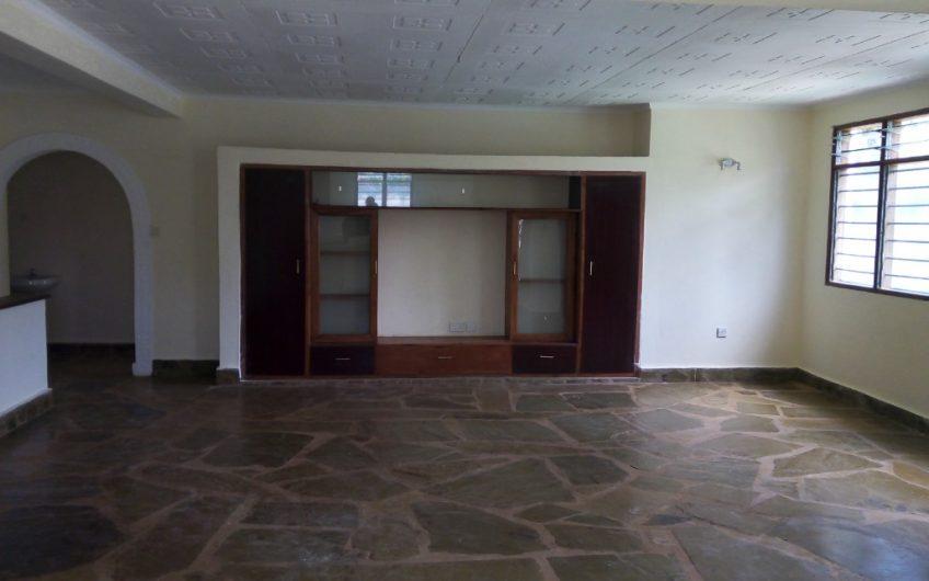 Three bedroom bungalow to let in Ukunda.