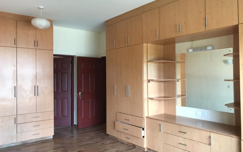 Three bedroom apartment to let In Westlands.